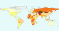 Noncommunicable diseases Death rate.PNG